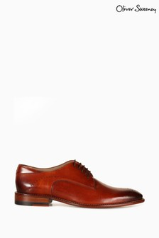 Oliver Sweeney Harwoth Leather Brogue Derby Shoes