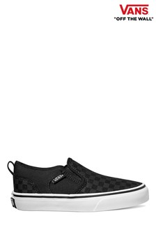 Vans Youth Checkerboard Trainers