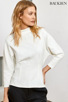 Baukjen White Marianne Top