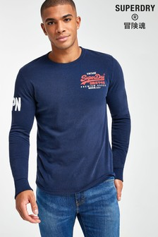 Superdry Vintage Logo Duo Long Sleeve T-Shirt