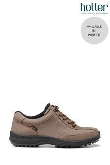 Hotter Mink Mist GTX Wide Fit Lace-Up Shoes