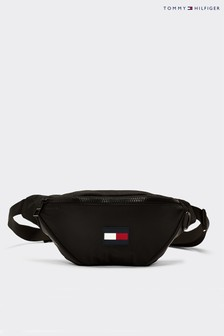 Tommy Hilfiger Black Tommy Flag Bumbag