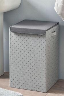 Star Print Laundry Hamper
