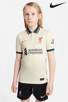 Nike Liverpool 21/22 Away Kids Football Shirt