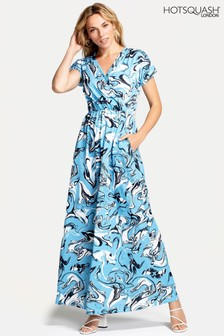HotSquash Blue Maxi Dress
