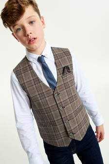 Heritage Waistcoat, Shirt and Tie Set (12mths-16yrs)