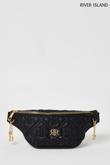 River Island Girls Black Bumbag