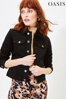 Oasis Black Denim Jacket