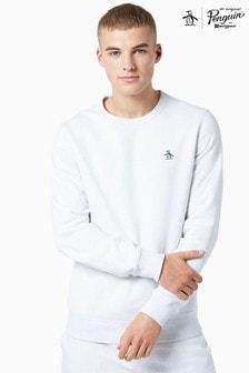 Original Penguin® Sticker Pete Crew Neck Sweatshirt