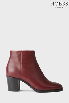 Hobbs Red Blake Ankle Boots