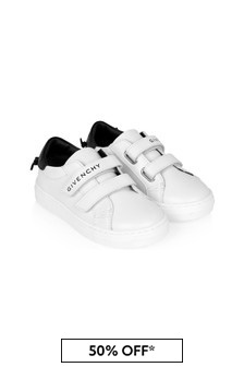 Givenchy Kids Boys White Trainers