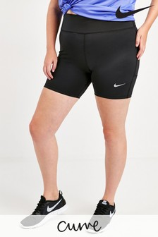 """Nike Curve Black 7"""" Fast Shorts"""