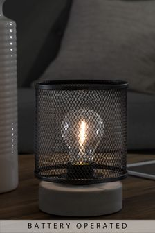 Mesh Battery Operated Ambient Lamp