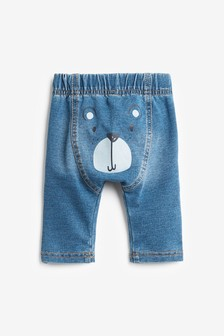United Colors Of Benetton Blue Bear Jeans