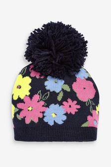 Flower Beanie (Younger)