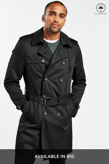 Shower Resistant Trench Coat