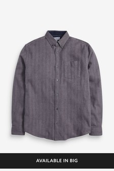 Herringbone Long Sleeve Shirt