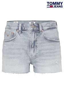 Tommy Jeans Blue Cony Denim Shorts
