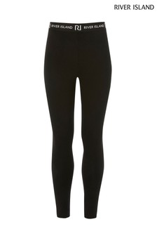 River Island Black Leggings