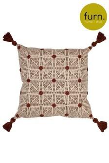 Furn Red Chia Cushion