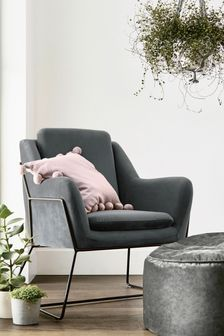 Holborn Accent Chair With Black Legs