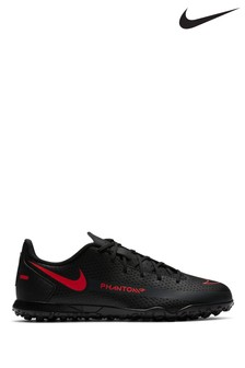 Nike Black Phantom GT Club Turf Junior and Youth Football Boots