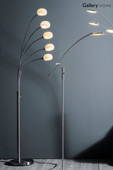 James 5 Bulb Floor Lamp by Gallery Direct