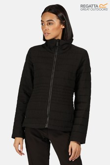 Regatta Black Lustel Baffle Jacket