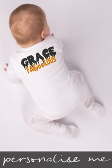 Personalised Faboolous Sleepsuit