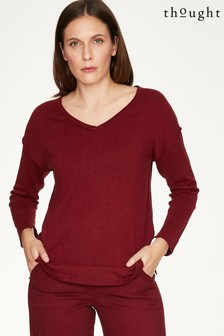 Thought Red Loren Jumper