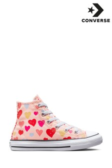 Converse Hearts High Top Youth Trainers