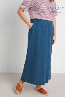 Seasalt Grey Landscape Artist Skirt