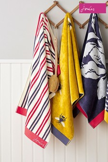Joules Dawn Shadow Stripe Towels