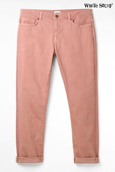 White Stuff Pink Boyfriend Jeans