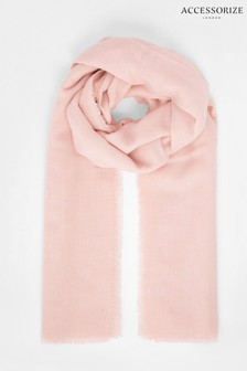 Accessorize Pink Take Me Everywhere Scarf