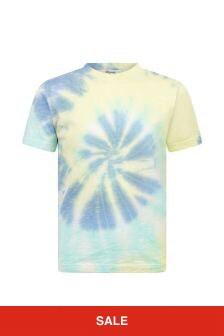 Bonpoint Boys Blue Cotton T-Shirt