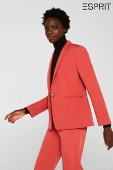 Esprit Orange Elegant Coat