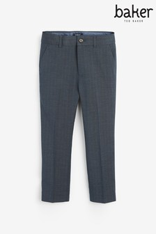 Baker by Ted Baker Boys Grey Suit Trousers