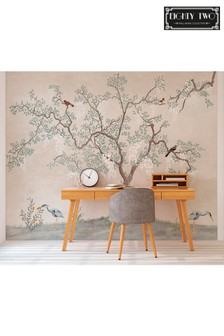Exclusive To Next Oriental Tree Wall Mural by Eighty Two