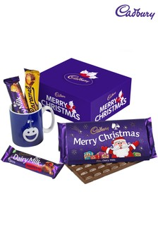 Cadbury Merry Christmas Chocolate And Mug Set