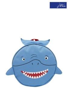 Joules Blue Explorer Novelty Shark Backpack