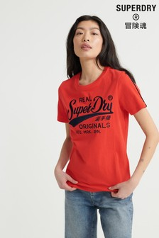 Superdry Real Originals Piping T-Shirt