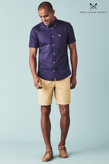 Crew Clothing Natural Bermuda Shorts
