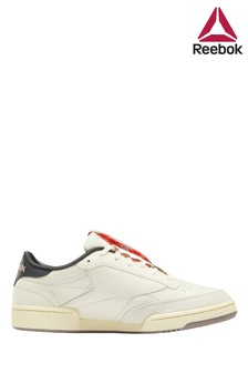 Reebok White GroundClub C 85 Shoes
