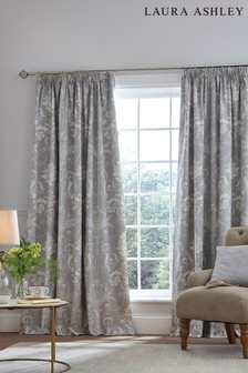 Laura Ashley Josette Pencil Pleat Curtains