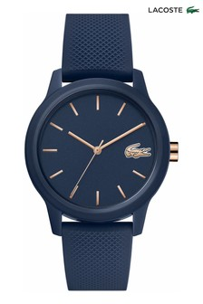 Lacoste Navy Blue Silicone Watch