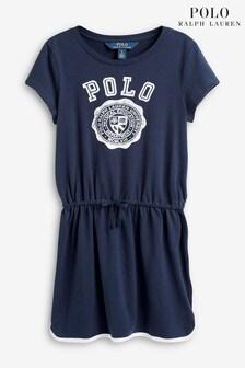 Ralph Lauren Navy Polo Logo Dress