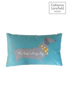 Silly Sausage Dog Cushion by Catherine Lansfield