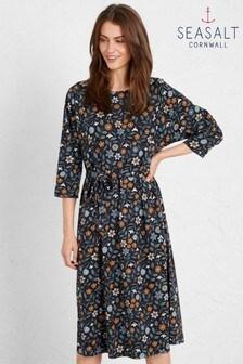 Seasalt Blue Picking Season Dress