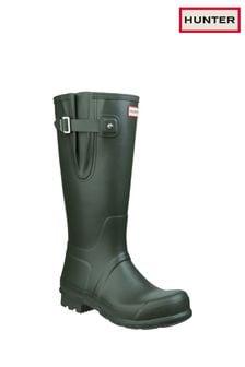 Hunter Green Original Side Adjustable Wellington Boots